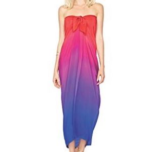 NWT gottex 💯% silk cover up O/S retail price $228